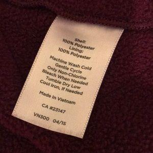 Talbots Jackets & Coats - Talbots Maroon Burgundy Puffer Vest Jacket 2XL